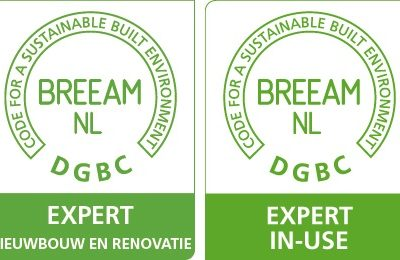 Recognition expert nieuwbouw en renovatie + in-use